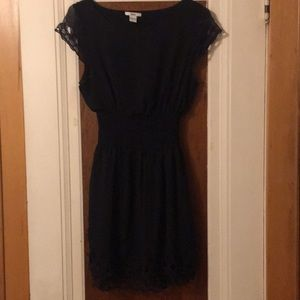 Cute summer dress with flattering waistline